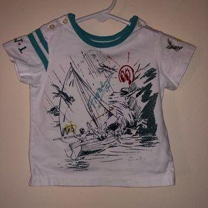 Burberry kids baby tshirt.